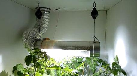 Az elhasznált levegő a cooltube-on keresztül a lámpát hűtve adjuk kerül a szénszűrőbe